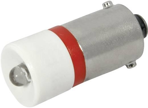 LED lámpa BA9s Piros 230 V/AC 120 mcd CML 18606230
