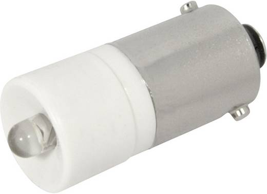 LED lámpa BA9s Melegfehér 24 V/DC, 24 V/AC 1350 mcd CML