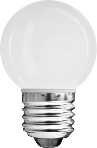 LED 71 mm Müller Licht 230 V E27 0.6 W = 4 W Melegfehér Csepp forma, tartalom: 1 db