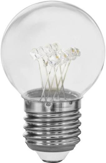 LED 70 mm Müller Licht 230 V E27 0.4 W = 3 W Melegfehér Csepp forma, tartalom: 1 db