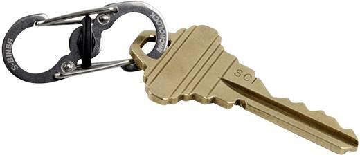 Kulcstartó 6 db karabínerrel, ezüst színű, Locker NI-KLK-11-R3 KeyRack Locker NITE Ize