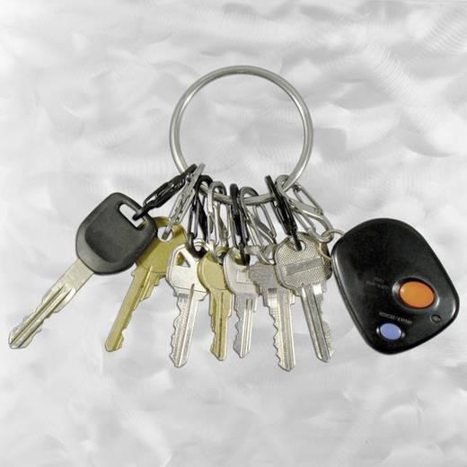 Kulcskarika 8 db S-Biner karabínerrel NI-BRG-M1-R3 BigRing 8 S-Biner NITE Ize
