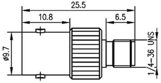 BNC adapter BNC aljzat - SMA alj, Telegärtner, J01008A00191 db
