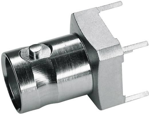 BNC csatlakozó Alj, beépíthető, függőleges 50 Ω Telegärtner J01001A1944 1 db