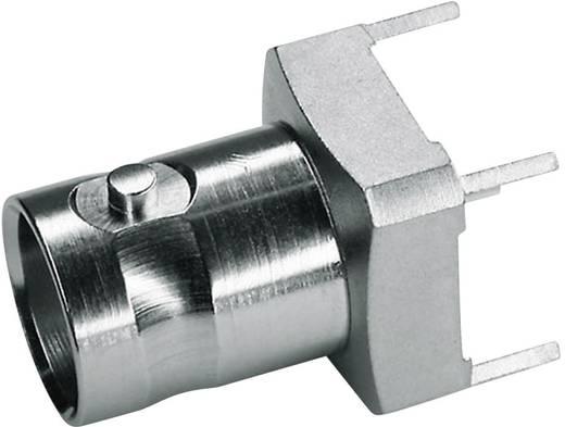 BNC csatlakozó Alj, beépíthető, függőleges 75 Ω Telegärtner J01003A1946 1 db