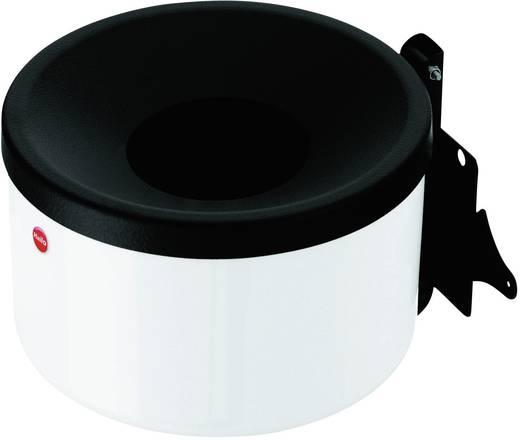 Falra szerelhető hamutartó, 1 liter, 170 x 110 mm, fehér, Hailo ProfiLine easy