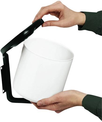 Falra szerelhető hamutartó, 1,2 l, 170 x 160 mm, Hailo Profiline
