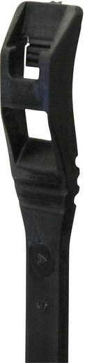 Lapos profilú kábelkötöző (H x Sz) 287 mm x 4.5 mm Szín: fekete 25 db PB Fastener