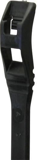 Lapos profilú kábelkötöző (H x Sz) 406 mm x 7.6 mm Szín: fekete 25 db PB Fastener