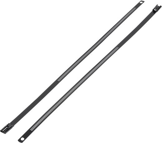 Nemesacél kábelkötöző (H x Sz) 225 mm x 7 mm ASTN-225 1 db KSS