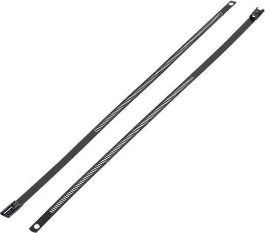 Rozsdamentes acél kábelkötegelő 225 x 7 mm, 1 db, KSS ASTN-225