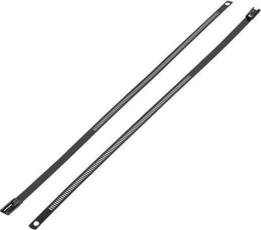 Bevonatolt rozsdamentes acél kábelkötegelő 450 x 7 mm, 1 db, KSS ASTN-450