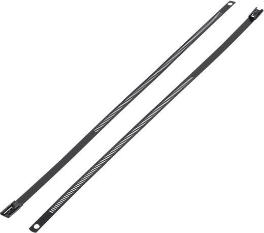 Nemesacél kábelkötöző (H x Sz) 610 mm x 7 mm ASTN-610 1 db KSS