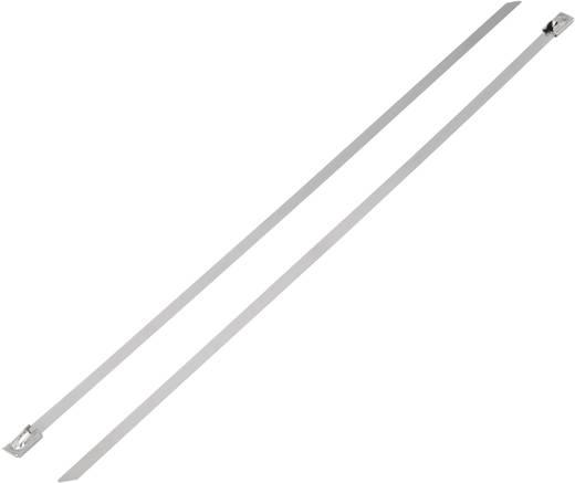 Nemesacél kábelkötöző (H x Sz) 152 mm x 7.9 mm BST-152L 1112 N 1 db KSS