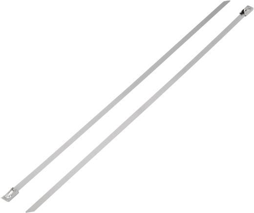 Nemesacél kábelkötöző (H x Sz) 266 mm x 7.9 mm BST-266L 1112 N 1 db KSS