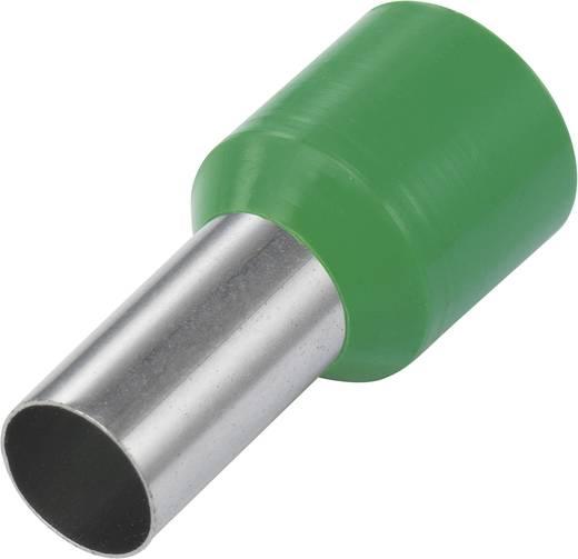 Érvéghüvely 6 mm² 12 mm Részlegesen szigetelt Zöld Tru Components 93015c31 100 db