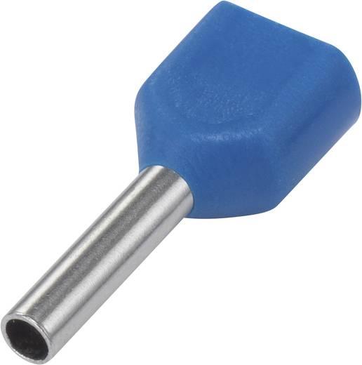 Iker érvéghüvely 0.75 mm² 8 mm Részlegesen szigetelt Világoskék 93015c63 100 db