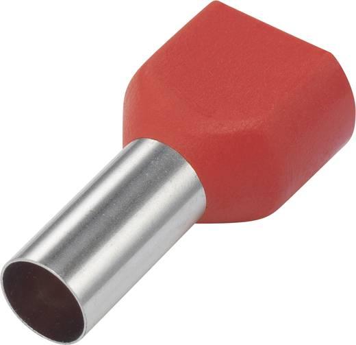 Iker érvéghüvely 10 mm² 14 mm Részlegesen szigetelt Piros 93015c67 100 db