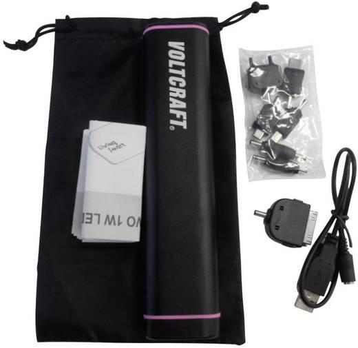 Mobil akku, hordozható töltő, Powerbank Li-Ion 10400 mAh akkuval VOLTCRAFT PowerTube PT-2 96069c49