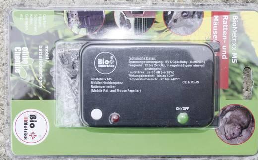 Hordozható egér- és patkányriasztó, BioMetrixx M51021a
