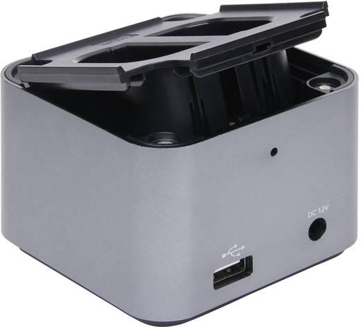 Univerzális kamera akku töltő, Li-Ion, NiCd, NiMH, Hähnel 320354 ProCube
