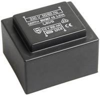 EI 38/13,6 Nyák transzformátor, 230 V / 2 x 30 V 60 mA 3,6 VA Gerth (PTG386002) Gerth