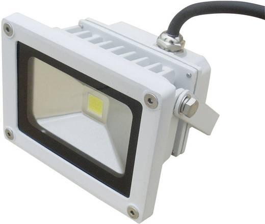 LED-es kültéri fényszóró 10 W Melegfehér DIO-FL10N-W Fehér