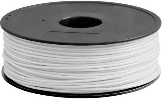 3D nyomtató szál Renkforce PLA300W1 3 mm Fehér