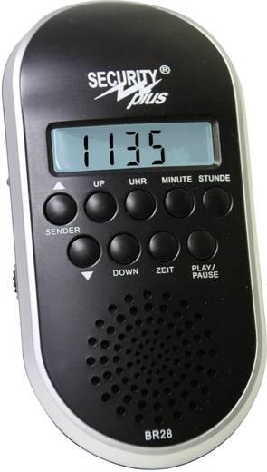 Security Plus URH kerékpárrádió BR 28 MP3/USB CM 4.1 blackline fekete