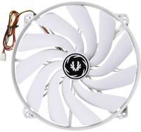 Számítógépház ventilátor 200 x 200 x 20 mm, fehér, Bitfenix Spectre Bitfenix