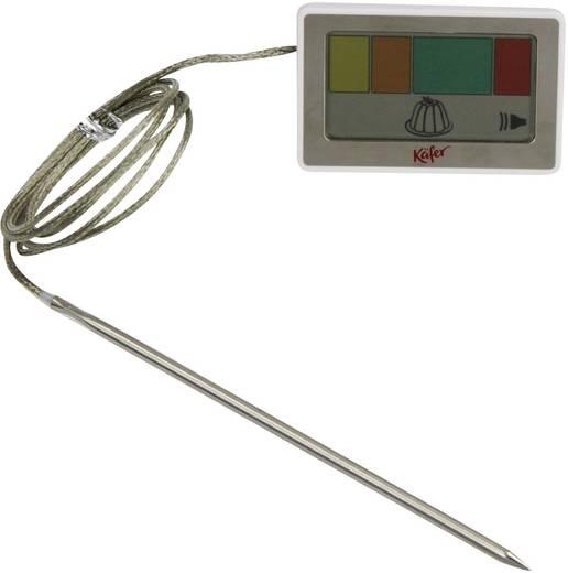 Digitális sütemény hőmérő kábellel és mérőérzékelővel, Käfer E344C