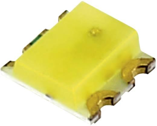 SMD LED, többszínű Piros, Fehér 130 mcd, 500 mcd 120 °, 120 ° 20 mA, 20 mA 1.8 V, 2.8 V AL-S0605SRNWY/50-06R