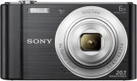 Sony Cyber-Shot DSC-W810B Digitális kamera 20.1 Megapixel Optikai zoom: 6 x Fekete Sony