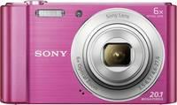 Sony Cyber-Shot DSC-W810P Digitális kamera 20.1 Megapixel Optikai zoom: 6 x Rózsaszín Sony