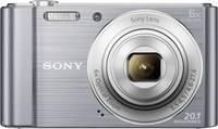 Sony Cyber-Shot DSC-W810S Digitális kamera 20.1 Megapixel Optikai zoom: 6 x Ezüst Sony