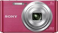 Sony Cyber-Shot DSC-W830P Digitális kamera 20.1 Megapixel Optikai zoom: 8 x Rózsaszín Sony