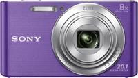 Sony Cyber-Shot DSC-W830V Digitális kamera 20.1 Megapixel Optikai zoom: 8 x Viola Sony