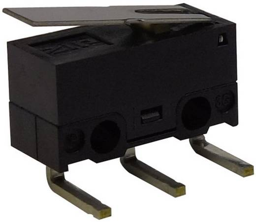 Mikrokapcsoló 125 V/AC 3 A 1 x BE/(BE) Zippy DF-03S-1D-Z Nyomó 1 db