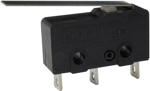 Mikrokapcsoló 250 V/AC 6 A 1 x BE/(BE) Zippy SM1-N6S-03A0-Z Nyomó 1 db