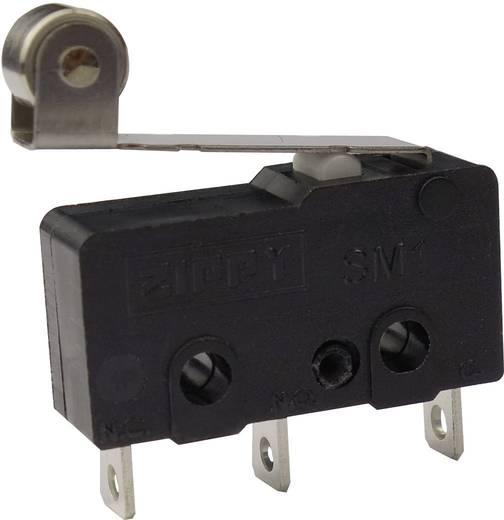 Mikrokapcsoló 250 V/AC 6 A 1 x BE/(BE) Zippy SM1-N6S-05A0-Z Nyomó 1 db