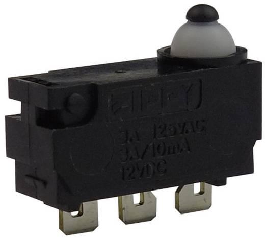 Mikrokapcsoló 12 V/DC 0.1 A 1 x BE/(BE) Zippy DW-N2S-00A0D-Z Nyomó 1 db