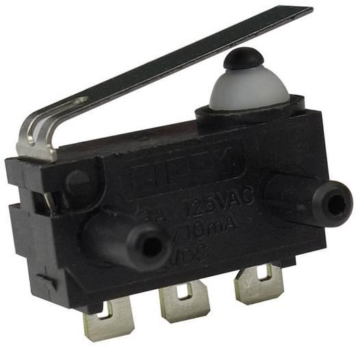 Mikrokapcsoló 12 V/DC 0.1 A 1 x BE/(BE) Zippy DW-N2S-01A0F-Z Nyomó 1 db