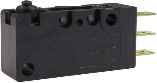 Mikrokapcsoló 250 V/AC 10 A 1 x BE/(BE) Zippy VW1-10S0-00D3-Z Nyomó 1 db