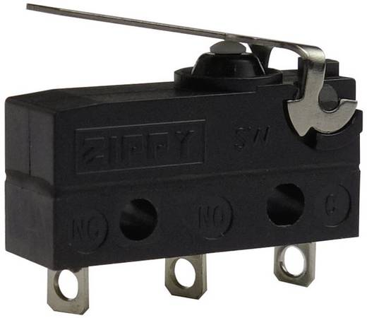 Mikrokapcsoló 250 V/AC 6 A Zippy SW-05S-01A0-Z IP67 Nyomó 1 db