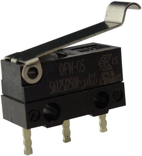 Mikrokapcsoló 250 V/AC 5 A 1 x BE/(BE) Zippy DFW-05S-B02P0E-Z IP67 Nyomó 1 db