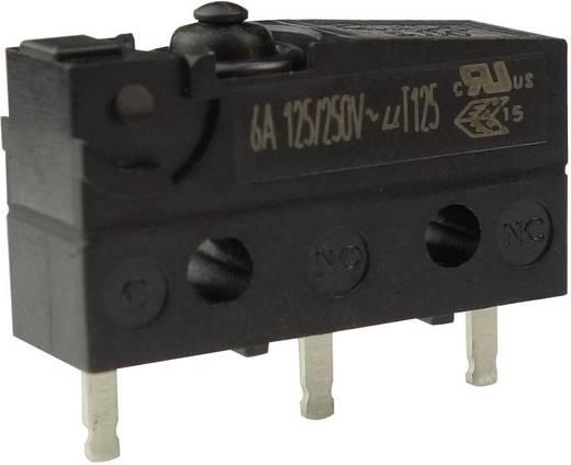 Mikrokapcsoló 250 V/AC 6 A 1 x BE/(BE) Zippy SW1-06S1-00P0-Z Nyomó 1 db
