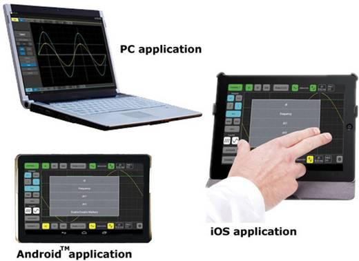 USB-s WiFi-s digitális oszcilloszkóp, 2 csatornás 10MHz Velleman WFS210