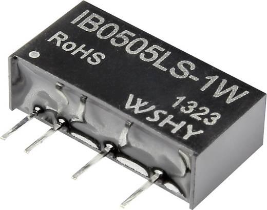 DC-DC konverter 12 V/DC 5 V/DC 200 mA 1 W, kimenetek: 1, IB1205LS-1W