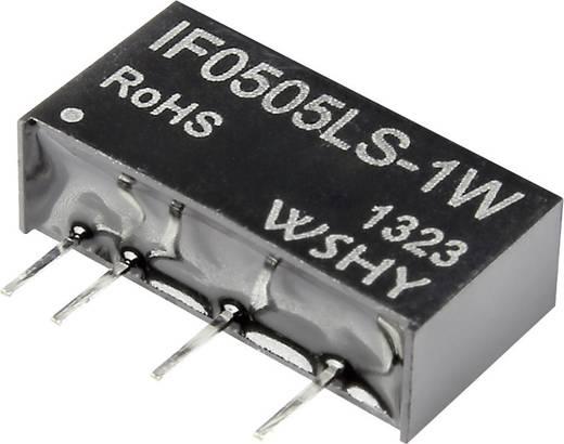 DC-DC konverter 5 V/DC 5 V/DC 200 mA 1 W, kimenetek: 1, IF0505S-1W