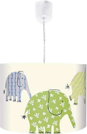 Mennyezeti függő lámpa, elefántos mintával, E27 75 W színes, Designers Guild színes